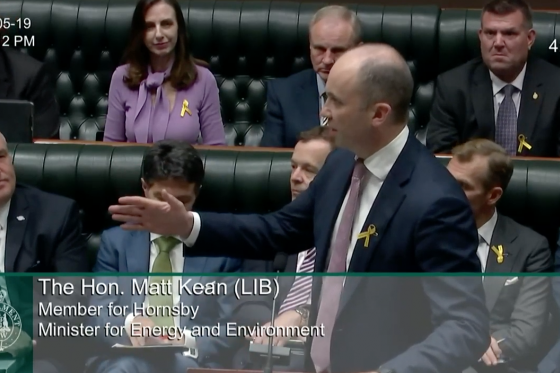Minister Kean Speaks in Question Time